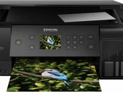 Multifunctional inkjet color Epson EcoTank CISS